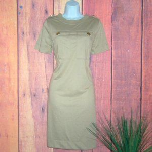 S Women's ROBERT LOUIS Khaki Dress - NWT